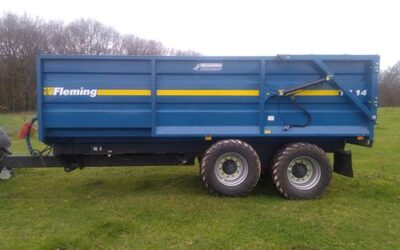 14T Fleming Silage Trailer