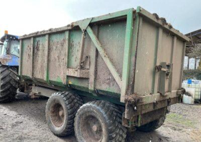 AW 12 tonner grain trailer - side profile