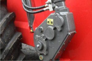 Agrispread muckspreader gearbox