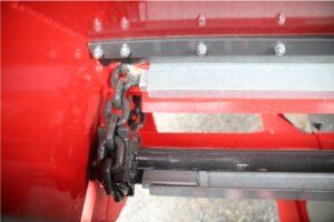 Agrispread muckspreader rear drive sprockets