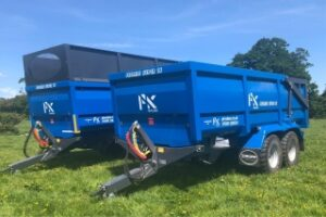 PK Proline grain and silage trailers