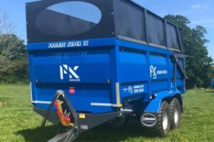 PK Proline trailer with high sides