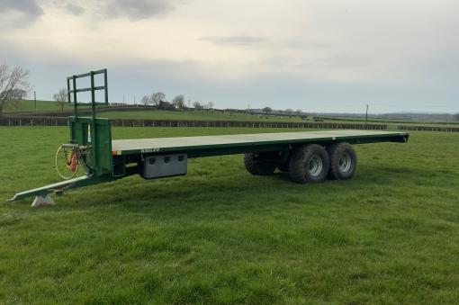 36ft Bailey Bale trailer