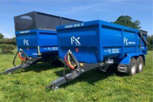 PK Proline Super16 grain and silage trailers
