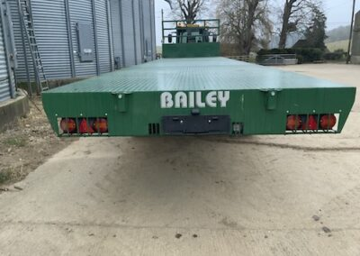 36ft Bailey Bale trailer side view
