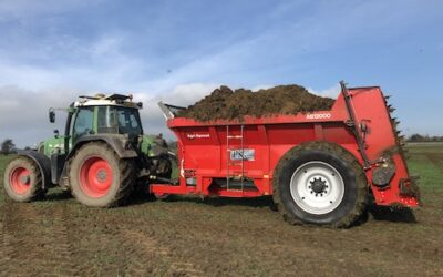 Agri-Spread AS 1200 Wide Body Muck Spreader