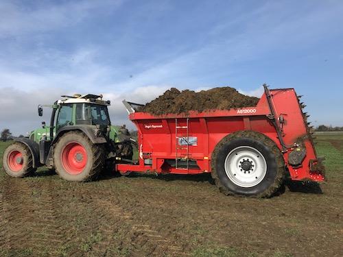 Agri-Spread AS 1200 Wide Body Muck Spreader