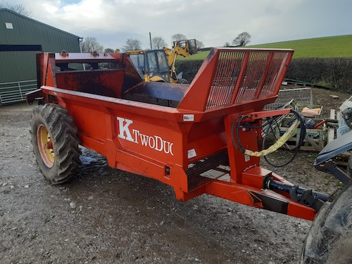 KTwo Duo 600 Spreader