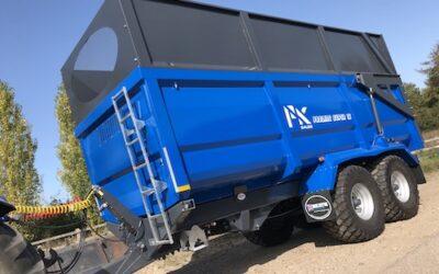 Ex-Demo PK Sales Proline Super 16 Silage Trailer (Blue)