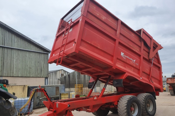 Ktwo Roadeo 1600 Silage Trailer