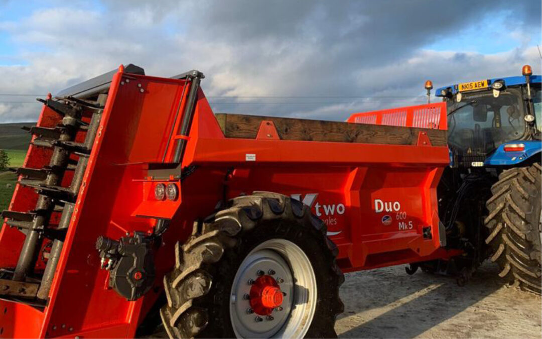 KTWO DUo 600 – Muck Spreader -2017(PK129)