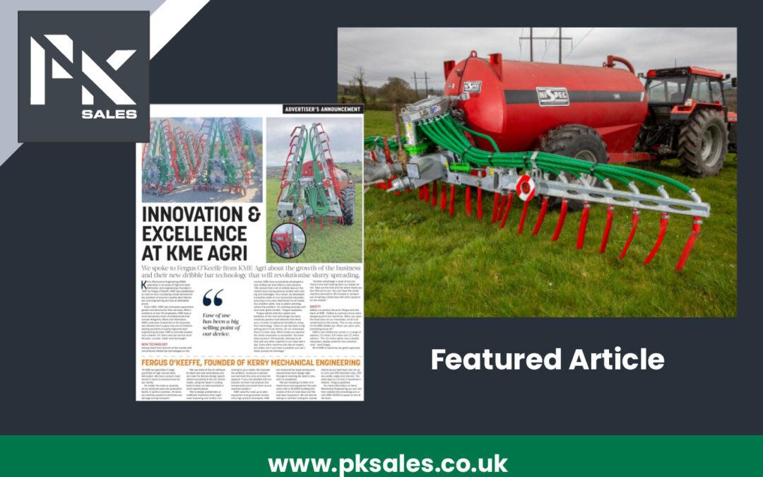 Innovation & Excellence at kme agri