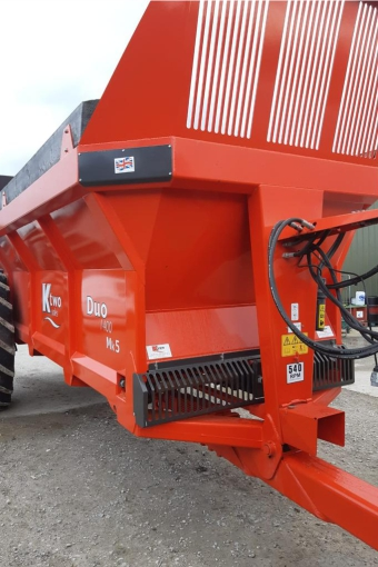 New KTwo Duo 1400 muck spreader