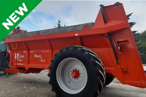 New KTwo 1400 Duo Muck Spreader