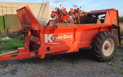 KTWO DUO 600 MUCKSPREADER (PK132)